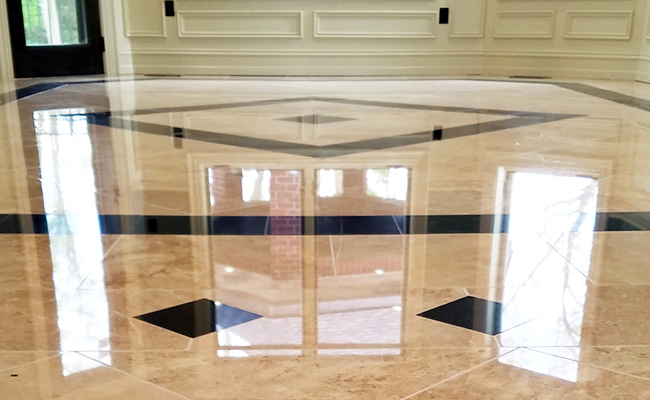 Marble Floor Restoration Birmingham Michigan