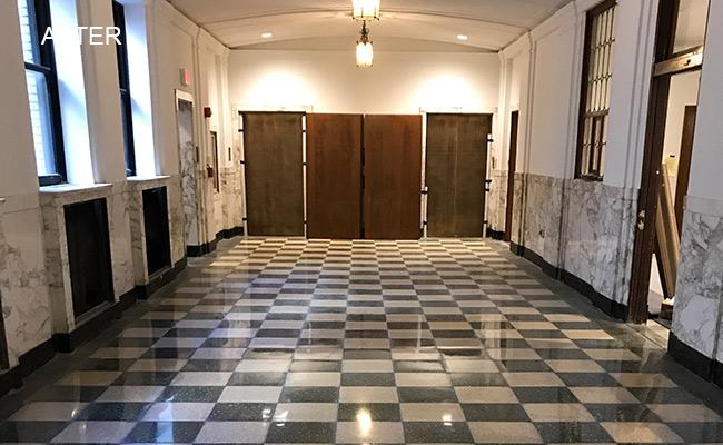Detroit Terrazzo Restored