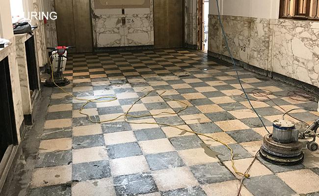 Terrazzo Honing and Polishing Detroit