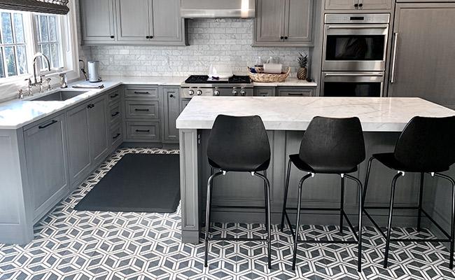 Concrete Tile After Restoration