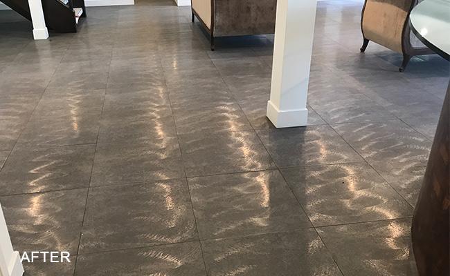 Porcelain Floor Restoration