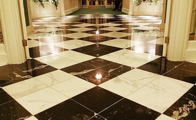 Assisted Living Floor Restoration