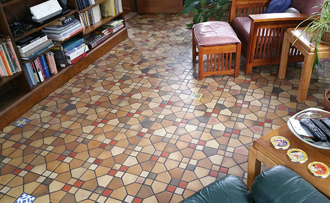 Historic Tile Cleaning