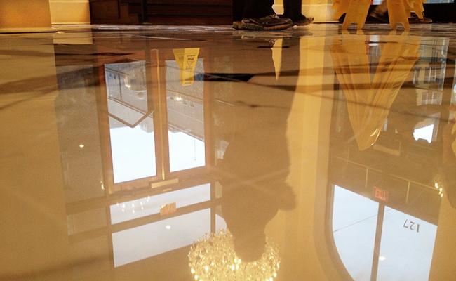 Hotel Lobby Marble Floor Polishing