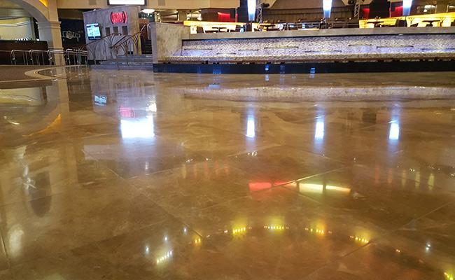 Marble and Limestone Floor Polishing